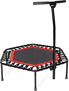 Sportplus Silent Fitness Mini Trampoline with Adjustable...