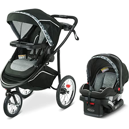 Graco Modes Jogger 2.0 Travel System   Includes Jogging Stroller and SnugRide SnugLock 35 LX Infant Car Seat, Zion