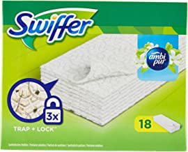 Verde Lavabili e riutilizzabili Panni di Ricambio per mocio Swiffer Wet/&Dry Mop Starter KEEPOW Confezione da 5