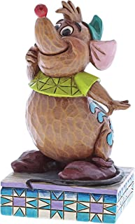 Enesco Disney Traditions by Jim Shore Gus Cinderelly's Friend Figurine, 3.75 Inches, Multicolor