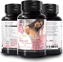 Herbal Revival Breast Enlargement Pills – 100% Natural Vaginal Health Supplement For Menopause Relief, Increase Bust & Cups Size, Improve Hair Growth, Skin & Nails Collagen 90 Veggie Capsules