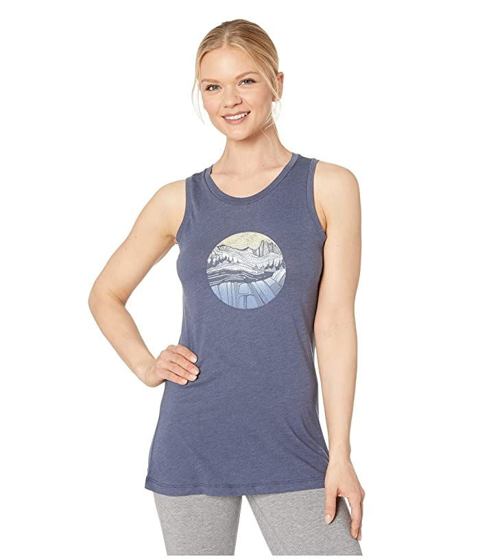 Columbia Sandy Trailtm Graphic Tank Top (Nocturnal Heather) Women