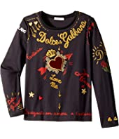 Dolce & Gabbana Kids - City Embroidered T-Shirt (Toddler/Little Kids)