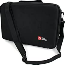 DURAGADGET Black EVA Storage Case with Fully-Customizable & Shock-Absorbing D.I.Y Foam Interior - Compatible with The AAXA LED PICO / M5 / P300 / P300 NEO / P3X / P450 / P450 PRO / P4-X / P5 / P700