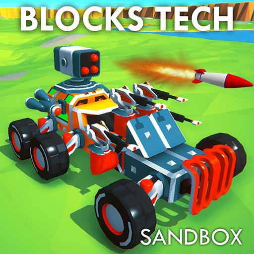 Block Tech : Epic Sandbox Car Craft…