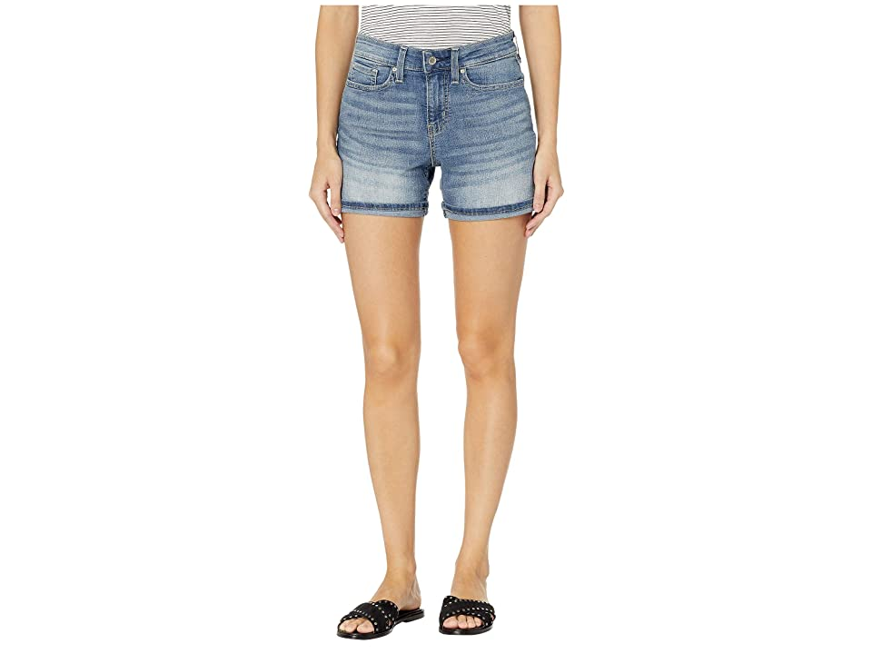 Levi/'s Strauss /& Co. Or Femme Label Mid-Rise Shorts Blue Onyx