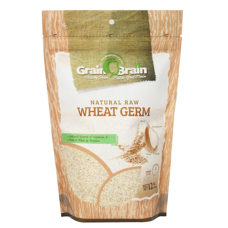 Grain Brain Wheat Germ 12 oz (12 oz) Raw, All natural, Untoasted