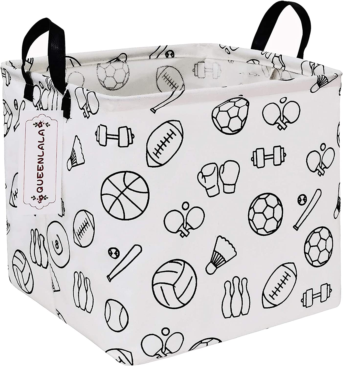 QUEENLALA Square Laundry Max 62% OFF Hamper Basket Gifts Foldable Nursery