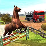 Racing Horse Derby Adventure Game 3D : Horse Transporter Truck Driving Game Sim