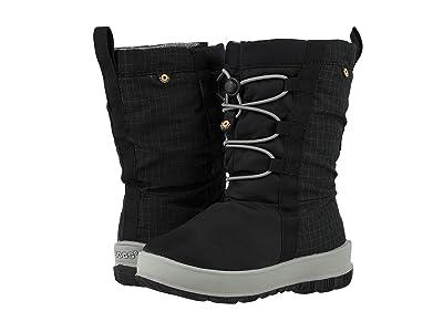 Bogs Kids Snownights (Toddler/Little Kid/Big Kid) (Black) Girls Shoes