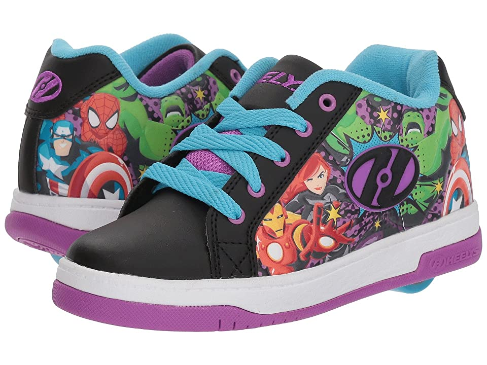 Heelys Split Marvel Universe (Little Kid/Big Kid/Adult) (Black/Purple/Blue) Kid