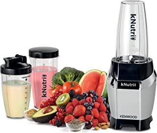KENWOOD BLENDER WITH 3 JAR, 600W, Ice Crushing, Smoothie to go, BSP70.560SI