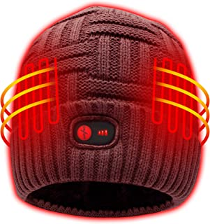 Heated Hat Men Women Battery Heat Cap,7.4V