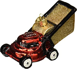 Old World Christmas 32321 Ornament, Lawn Mower