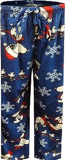 Women's Snoopy Christmas Minky Fleece Ladies Lounge Pants