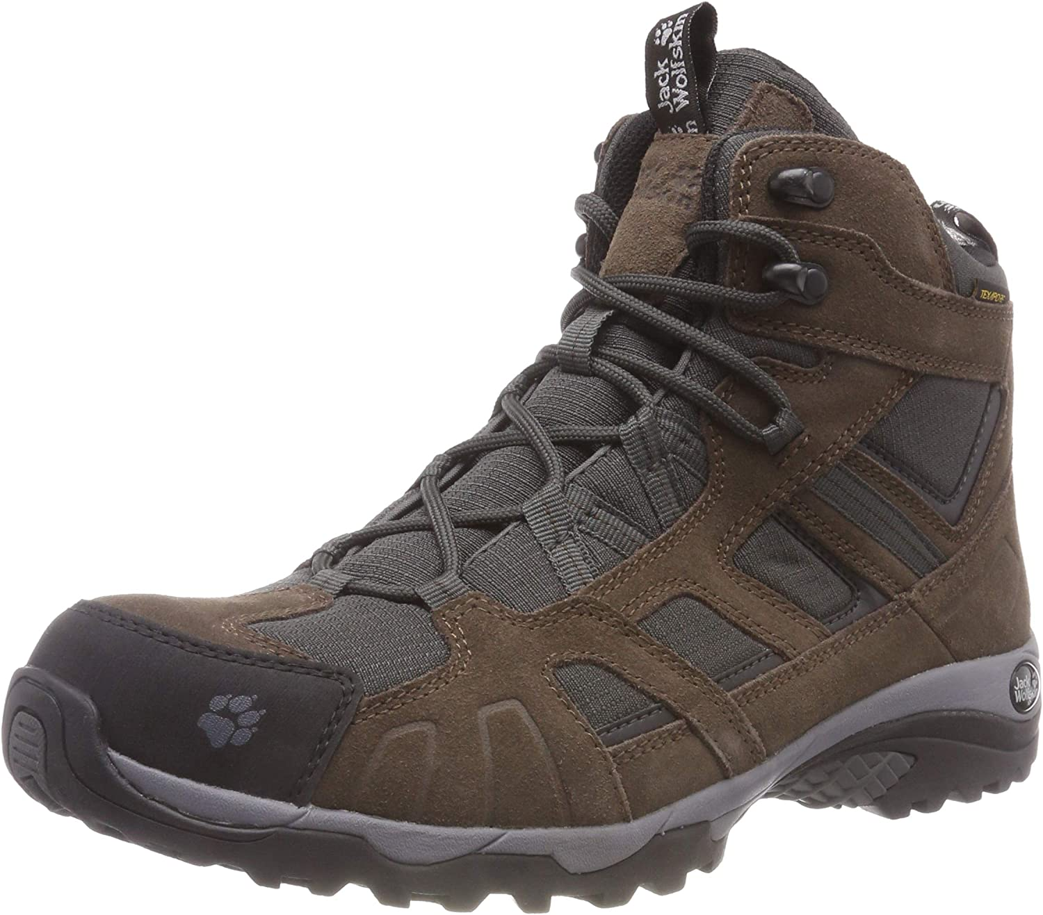 Jack Wolfskin Vojo Hike Mid Texapore, Mens Trekking and Hiking Boots