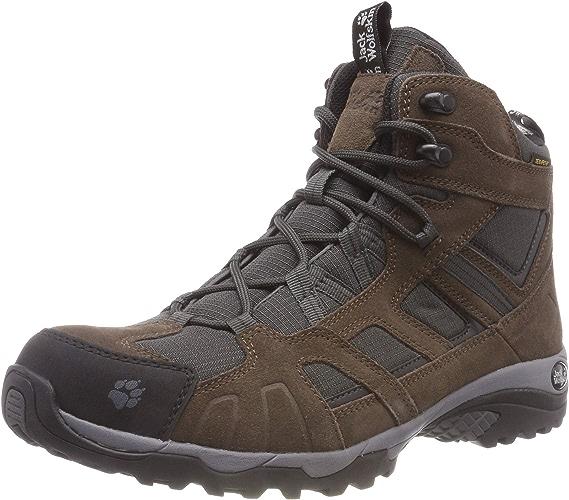 Jack Wolfskin Vojo Hike Mid Texapore Hommes, Chaussures de randonnée Homme