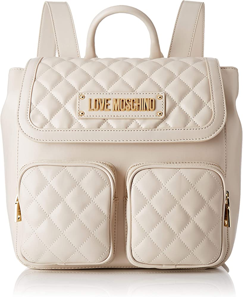 Love moschino borsa quilted zainetto in nappa pu JC4207PP07KA