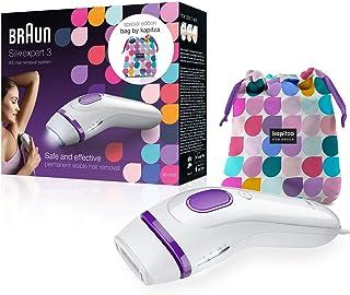 comprar comparacion Braun Silk-expert 3 BD 3006 IPL - Depiladora con tecnología IPL segura para una depilación duradera para mujeres y hombres...