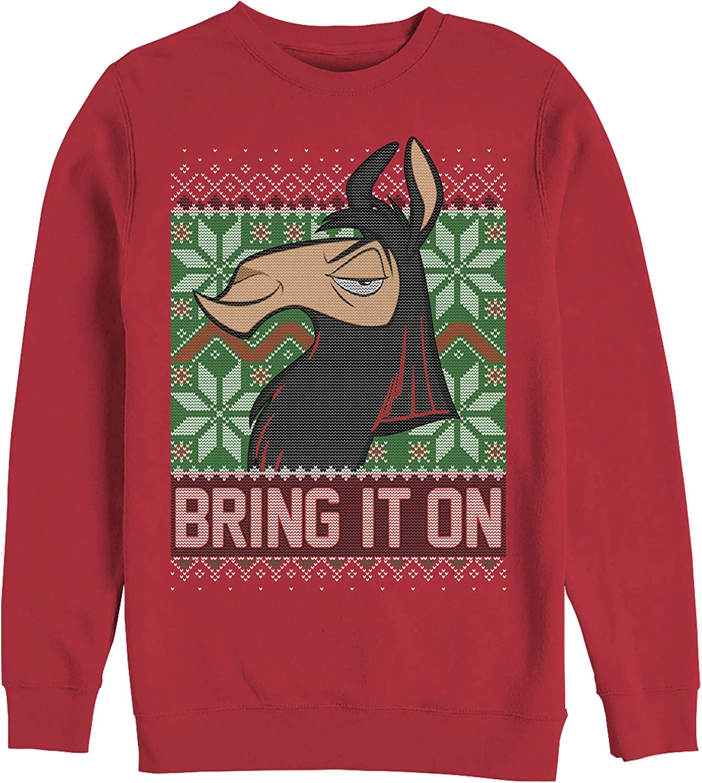 Men's The Ranking TOP14 Emperor's New Direct stock discount Groove Sweatshirt Christmas It On Bring