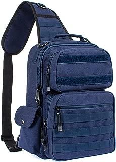 Leaper Military Tactical Backpack Assault Pack Sling Bag Molle Backpack Out Bag Dark blue