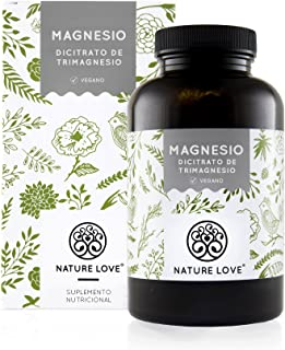 NATURE LOVE® Magnesio - 1500 mg citrato de magnesio, de