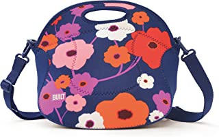 Built NY LB12-LSH Spicy Relish Neoprene Lunch Bag with Adjustable Crossbody Strap, Lush Flower
