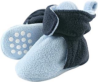 Luvable Friends Unisex Baby Cozy Fleece Booties