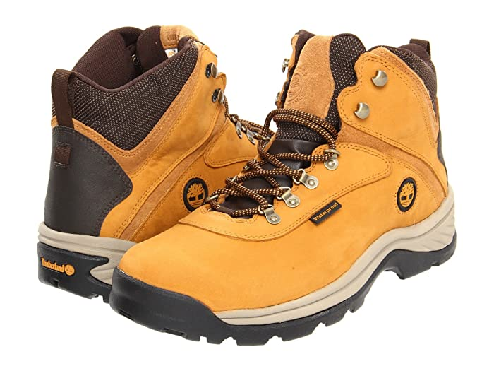 Timberland White Ledge Mid Waterproof (Wheat) Men's Hiking Boots
