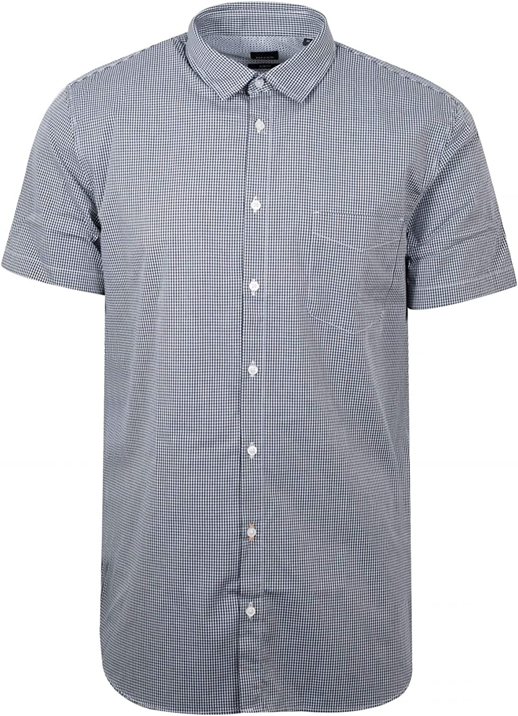 BOSS National uniform free shipping Men's Magneton_1-Short safety Shirt Casual