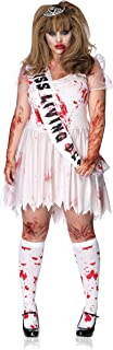 Women's Plus Size Bloody Prom Queen Costume
