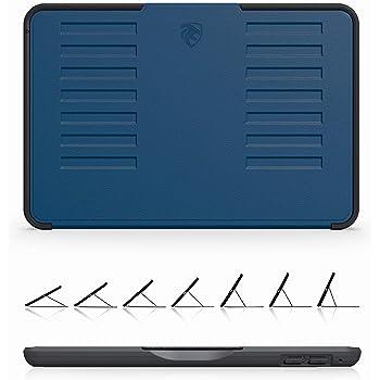 ZUGU CASE - 2019 iPad Mini 4/5 ケース The Muse Case 極薄 落下衝撃保護 7段階スタンド機能 オートスリープ スマートカバー (ネイビー)