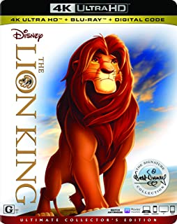 The Lion King - Ultimate Collector's Edition | 4K Ultra HD + Blu-ray | US Impoted