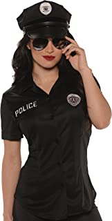 Women's Plus-Size Police Fitted Shirt