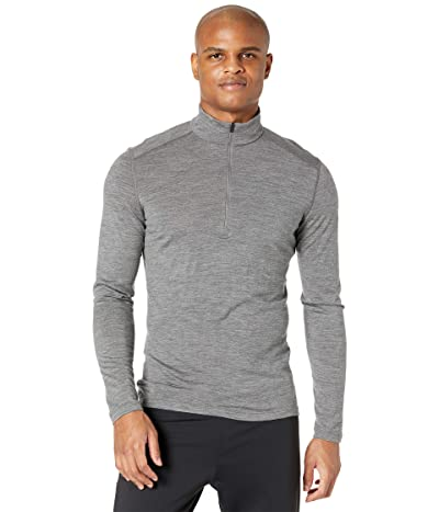 Icebreaker 200 Oasis Merino Base Layer Long Sleeve 1/2 Zip (Gritstone Heather 2) Men