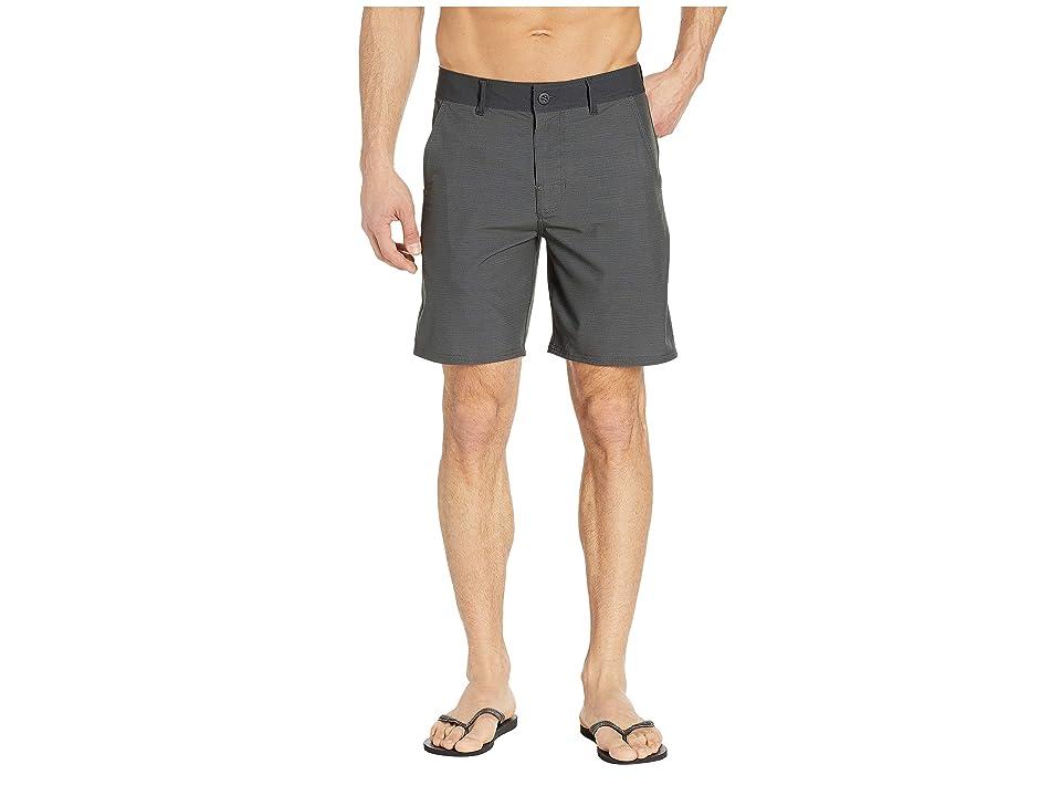 Prana Kingfischer Shorts (Charcoal) Men