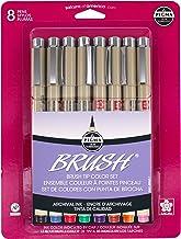 Pigma Brush Pens Set of 8 Colors