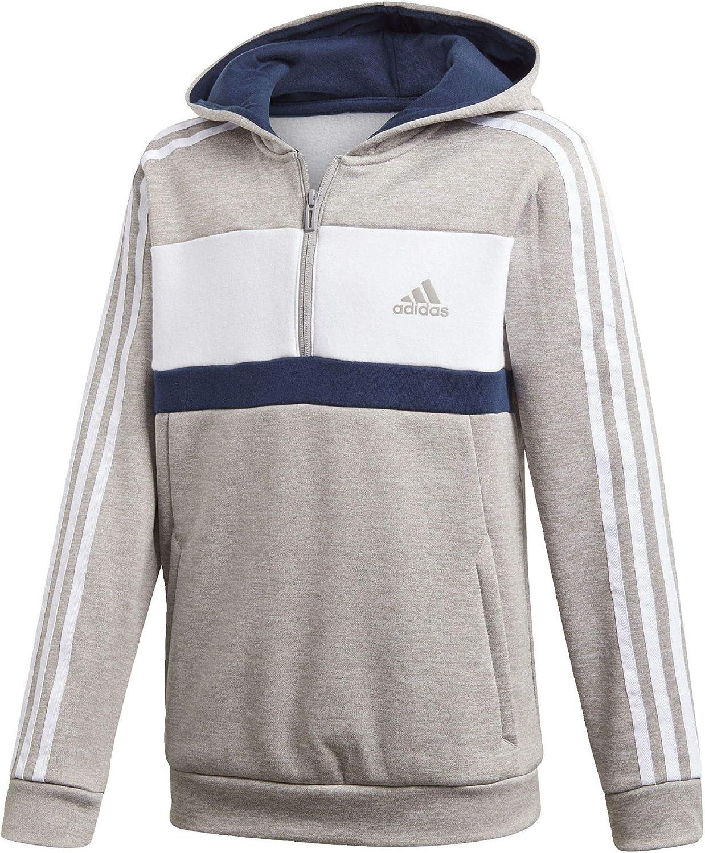 Adidas Jungen Sports Id Full Zip Hooded Fleece Kapuzen-Sweatshirt