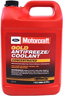 Best Genuine Ford Fluid VC-7-B Gold Concentrated Antifreeze/Coolant - 1 Gallon (Packaging may vary) Review