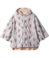 Stella McCartney Kids - Froggie Ice Cream Print Rain Cape (Toddler/Little Kids/Big Kids)
