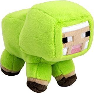 JINX Minecraft MINECON Earth 2018 Baby Sheep Plush Stuffed Toy, Lime Green, 7