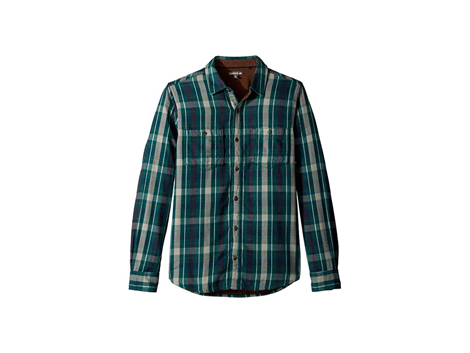 Toad&Co Dually Long Sleeve Shirt (Blue Spruce) Men