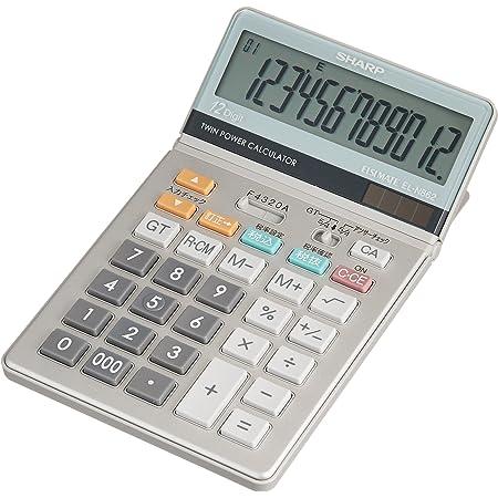 シャープ チェック&コレクト電卓12桁(ナイスサイズ) EL-N862X