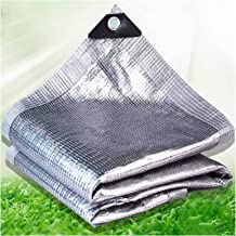 HAI RONG Duidelijke Tarps Reflectie Zonlicht Aluminiumfolie Shade Net, Anti-aging Thuis Outdoor Isolatie, Zon Room Dak Sha...