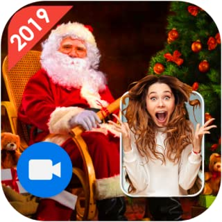 A Real Video Call From Santa Live Santa Claus Video Call Request a callor send a fake texte message