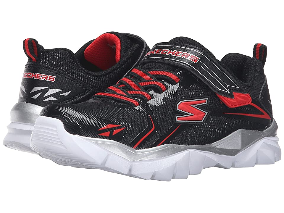 SKECHERS KIDS Electronz Blazar (Little Kid/Big Kid) (Black/Red) Boy