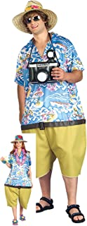 tropical tourist costume