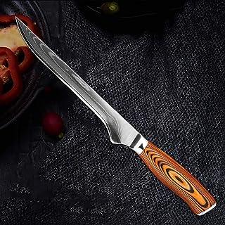 Couteau de cuisine Damascus VG10 Haute-Carbon Steel Couteau de Chef Professionnel Couteau de désossage Sancing Cleaver bou...