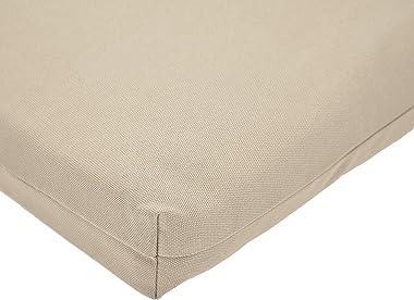 Amazon Basics Outdoor Lounger Patio Cushion - Khaki