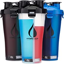 Hydra Cup – 3 Pack High Performance Dual Shaker Bottle 36oz Patented PRE Protein Shaker Cup Leak Proof Awesome Colors Save Time Be Prepared Estimated Price : £ 30,42